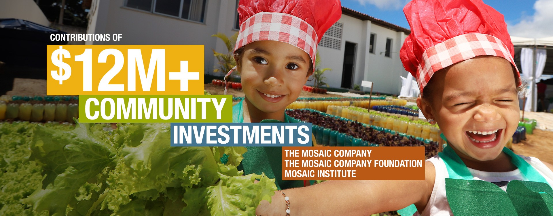 $12M community investments